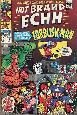 Not Brand Echh #5 Dec 1967 Silver Age Marvel Comic