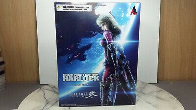 Kei Yuki Figure Space Pirate Captain Harlock Playarts Play Arts Kai