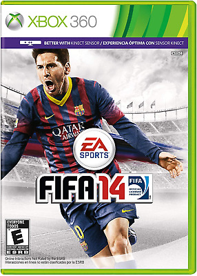 FIFA14 Xbox 360 EA Sports 2014 with Kinect Sensor In Original Package