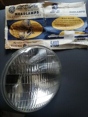 phare MUSTANG FORD HARLEY optique GENERAL ELECTRIC 5400 12v HEADLIGHT  180mn