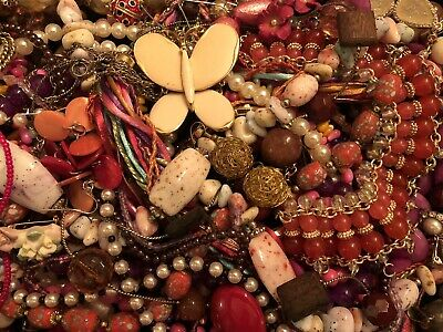 Huge Vintage to Now Estate Jewelry Lot - Estate Find - All Wearable Mixed 2lbs+