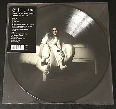 Billie Eilish - When We All Fall Asleep -Spotify Picture Disc Vinyl LP 2019