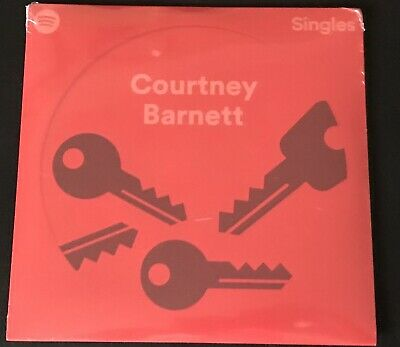 "Courtney Barnett - Spotify Singles - Red 7"" Vinyl Limited Numbered New"