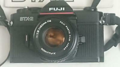 Fuji STX-2 SLR Camera with 1.9/50mm lens and manual - Excellent Cosmetically