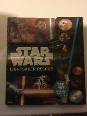 Star Wars Lightsaber Rescue Book NEW