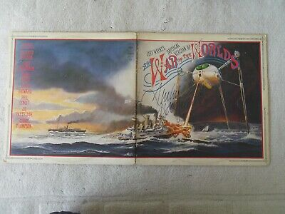 War Of The Worlds Original Vinyl Lp As Disc1 Only Signed By Justin Hayward