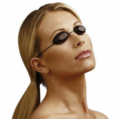 Sunbed UV Goggles Eye Protection for indoor outdoor tanning with elastic Iggogle