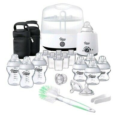 Tommee Tippee Closer to Nature Essentials Bottle Feeding Starter Set - White
