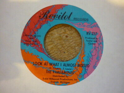northern soul parliments look at what i almost missed revilot usa orig 45