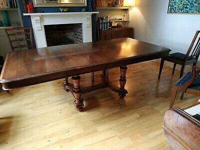 Antique French Walnut Dining Table, excellent condition