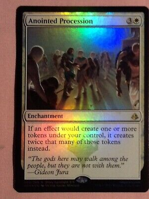Anointed Procession *FOIL*  x 1    Amonkhet    Magic the Gathering Card