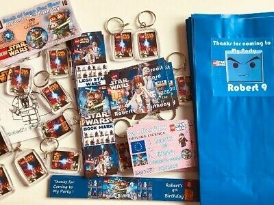 Pre Filled Kids Boy Or Girl Birthday Party Bags Themed Personalised Favours