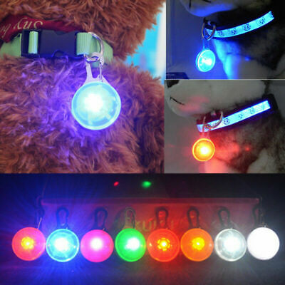 Fascinating Pet Dog Cat Puppy LED Flashing Collar Safety Night Light Pendant Yc
