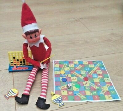 3 x Elf Games Props Toys Ideas for on the shelf with the Naughty Christmas Elf