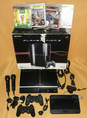 ⭐️PS3 Konsole⭐️Playstation3⭐2x Controller⭐ 2x Micros ⭐Draw Tablet⭐Kamera⭐Spiele