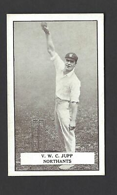 Gallaher - Famous Cricketers - #15 V W C Jupp, Northants