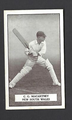Gallaher - Famous Cricketers - #31 C G Macartney, New South Wales