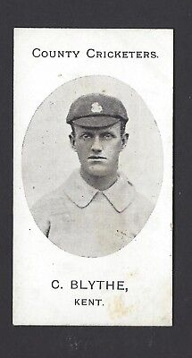 Taddy - County Cricketers - C Blythe, Kent