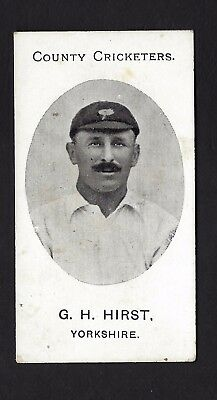 Taddy - County Cricketers - G H Hirst, Yorkshire