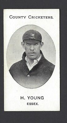 Taddy - County Cricketers - H Young, Essex