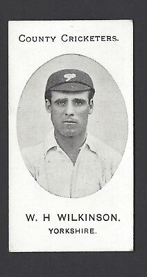 Taddy - County Cricketers - W H Wilkinson, Yorkshire