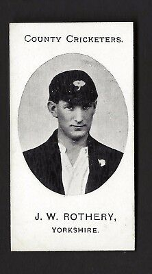 Taddy - County Cricketers - J W Rothery, Yorkshire