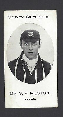 Taddy - County Cricketers - Mr S P Meston, Essex