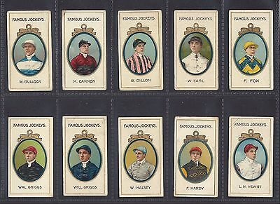 Taddy - Famous Jockeys (With Frame) - Full Set Of 25 Cards