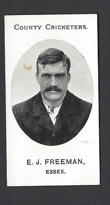 Taddy - County Cricketers - E J Freeman, Essex