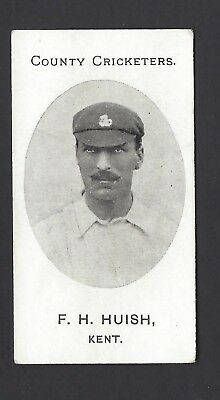 Taddy - County Cricketers - F H Huish, Kent