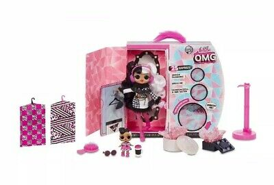 ✨Lol Surprise - Dollie / Dollface - Omg Winter Disco Fashion Doll Brand New Mga✨
