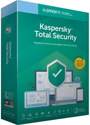 Kaspersky Total Security 2020 - 5 Geräte 24 Monate ESD