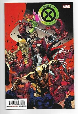HOUSE OF X #4 Pepe Larraz Main Cover A 1st Print Marvel 2019 NM