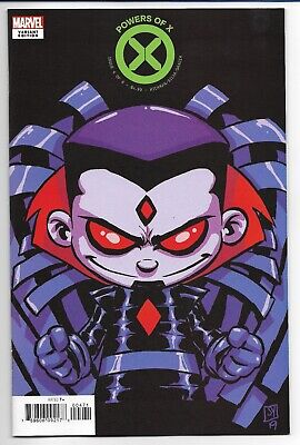 Powers Of X #4 Cover F Variant Skottie Young Mr. Sinister Cover Marvel X-Men