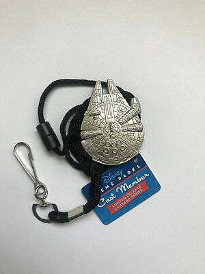 Disney DLR Cast Exclusive Limited Release Lanyard - Star Wars Millennium Falcon