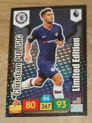 Panini Adrenalyn 2019/20 Premier League Christian Pulisic Limited Edition card