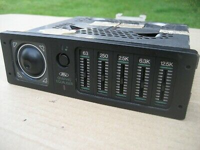 Ford Graphic Equaliser Ford Radio Cassette Equaliser Mk4 Escort Rs Turbo Mk3 Esc