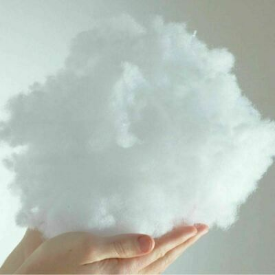 Super Soft Hollowfibre Ideal for Filling or Stuffing Toys & Cushions 1kg 2kg 5kg