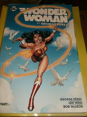 Wonder Woman volume 2  by George Perez (2017, Paperback) new graphic novel