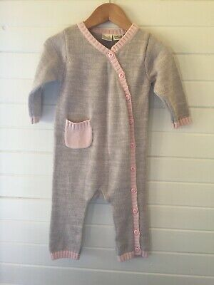 Max and Tilly Knit Romper - Size: 0 / 6-12 months (#D2322)