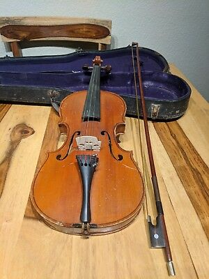 """Antique """"Nicolaus Amati"""" Copy, Made In Germany Violin    --- Free Shipping ---"""