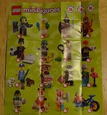 Lego 71025 Minifigure Series 19 Complete Set Of 16 In Hand Ready To Ship