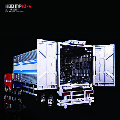 KBB Transformers MP10-V trailer container Combat platform Small ball in stock