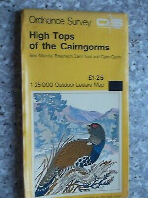 Ordnance Survey Outdoor Leisure Map High Tops of the Cairngorms