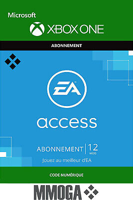EA Access Abonnement d'un an 12 Mois clé - Extension du Jeu - Xbox One Code - FR