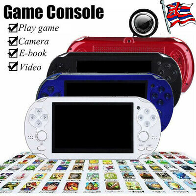 4.3'' 8GB 32Bit Handheld MP5 Video Game Console Portable +FUN Games Built-In UK