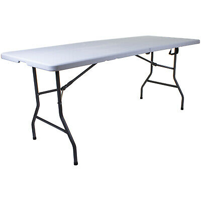 6Ft Folding Heavy Duty Table Garden Outdoor Bbq Party Catering Buffet Banquet
