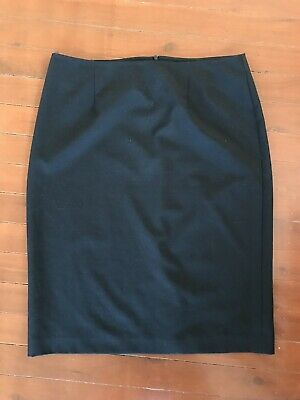 Target Below Knee Black Work Business Corporate Pencil Skirt Size 12