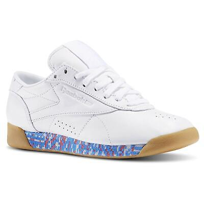 """Reebok Classics Women's Freestyle Lo 'Old Meets New"""" Trainers Shoes Deadstock"""