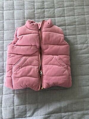 Seed Heritage Baby Girl Quilted Vest 00